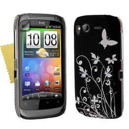 Yousave Accessories HTC Desire S IMD Black Case
