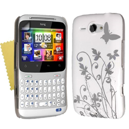 Yousave Accessories HTC Cha Cha IMD White Case