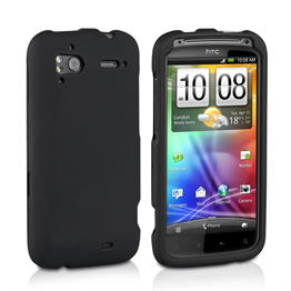 Yousave Accessories HTC Sensation Combo Black Case