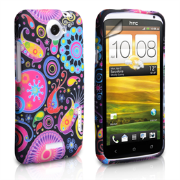 Yousave Accessories HTC One X Jellyfish Silicone Gel Case