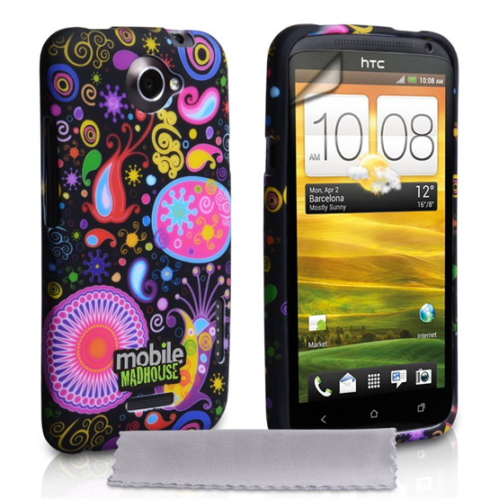Mobile Madhouse HTC One X Black Jellyfish Case