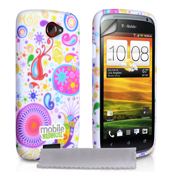 Mobile Madhouse HTC One S White Jellyfish Case