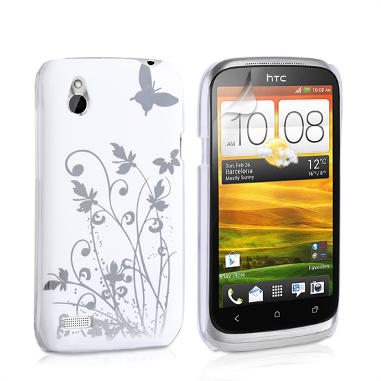 Yousave Accessories HTC Desire X IMD White Case
