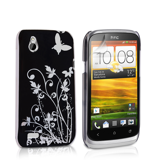Yousave Accessories HTC Desire X IMD Black Case