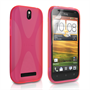 Yousave Accessories HTC One SV X-Line Hot Pink Case