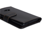 Yousave Accessories HTC One Leather-Effect Wallet Case - Black