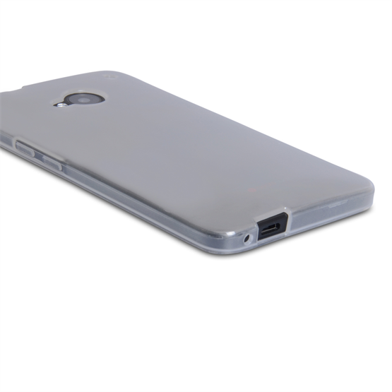 Yousave Accessories HTC One Silicone Gel Case - Clear
