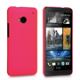 Yousave Accessories HTC One Hybrid Hot Pink Case
