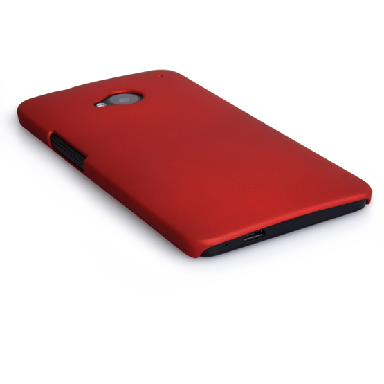 Yousave Accessories HTC One Hybrid Red Case