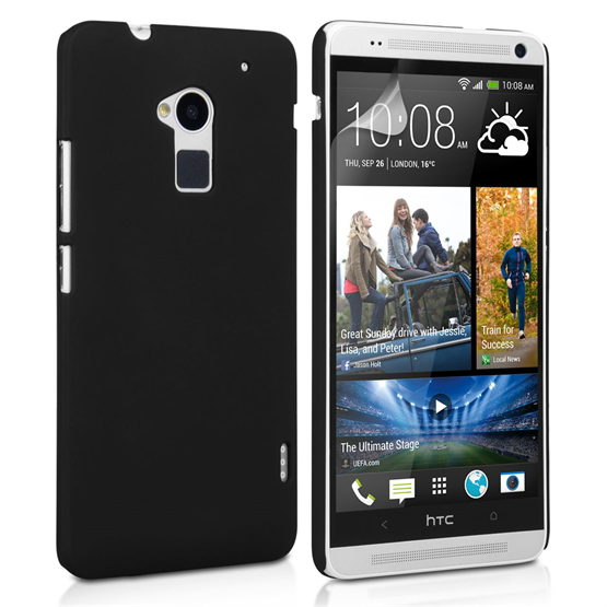 Yousave Accessories HTC One M7 Max Hybrid Black Case