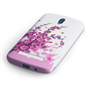 Yousave Accessories HTC Desire 500 Floral Bee Pink Case