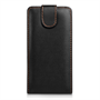 Yousave Accessories HTC One M8 Leather-Effect Flip Case - Black