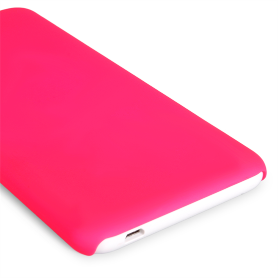 Yousave Accessories HTC Desire 816 Hard Hybrid Case - Hot Pink