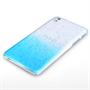 Yousave Accessories HTC Desire 816 Raindrop Hard Case - Blue-Clear
