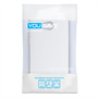 Yousave Accessories HTC One Mini 2 Silicone Gel X-Line Case - White