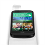 Yousave Accessories HTC One Mini 2 Leather-Effect Flip Case - White