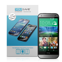 Yousave Accessories HTC One Mini 2 Screen Protector ( 3 Pack ) Clear