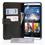 Yousave Accessories HTC Desire 820 Leather-Effect Wallet Case - Black