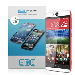 Yousave Accessories HTC Desire Eye Screen Protector ( 3 Pack ) - Clear