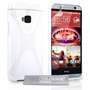 Yousave Accessories HTC ONE M9 Silicone Gel X-Line Case - White