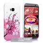 Yousave Accessories HTC ONE M9 Floral Bee Silicone Gel Case
