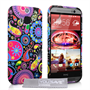Yousave Accessories HTC ONE M9 Jellyfish Silicone Gel Case