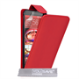 Yousave Accessories HTC ONE M9 Leather-Effect Flip Case - Red