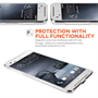 Yousave Accessories HTC One X9 0.6mm Clear Gel Case