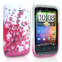 Yousave Accessories HTC Desire S Floral Bee