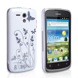 Yousave Accessories Huawei G300 IMD White Case