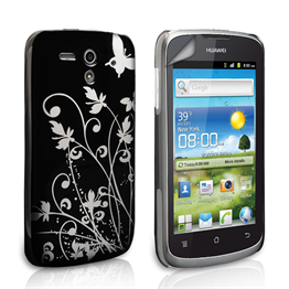 Yousave Accessories Huawei G300 IMD Black Case
