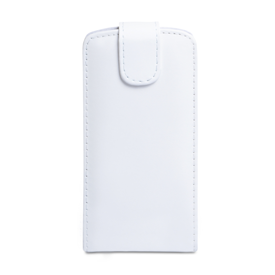 Yousave Accessories Huawei Ascend P6 PU Flip White Case