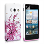Yousave Accessories Huawei Ascend Y300 Floral Bee Pink Case