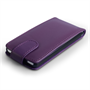 Yousave Accessories Huawei Ascend G6 Leather-Effect Flip Case - Purple