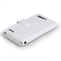 Yousave Accessories Huawei Ascend G6 Leather-Effect Wallet Case - White