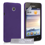 Yousave Accessories Huawei Ascend Y330 Hard Hybrid Case - Purple