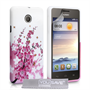 Yousave Accessories Huawei Ascend Y330 Floral Bee Silicone Gel Case