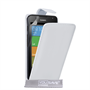 Yousave Accessories Huawei Ascend Y530 Leather-Effect Flip Case - White