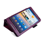 Yousave Accessories Huawei Mediapad M1 Purple Stand Case