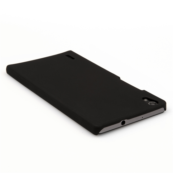 Yousave Accessories Huawei Ascend P7 Hard Hybrid Case - Black