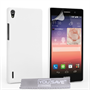 Yousave Accessories Huawei Ascend P7 Hard Hybrid Case - White