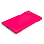 Yousave Accessories Huawei Ascend P7 Hard Hybrid Case - Hot Pink