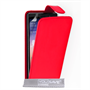 Yousave Accessories Huawei Ascend P7 Leather-Effect Flip Case - Red