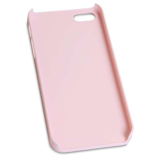 iPhone 5 Rainbow Bling Hard Case - Baby Pink