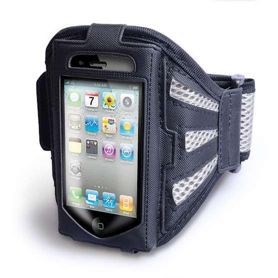 YouSave Accessories Small Sports Armband - Black/Grey