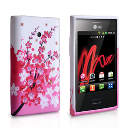 Yousave Accessories LG L3 Floral Bee Pink Case