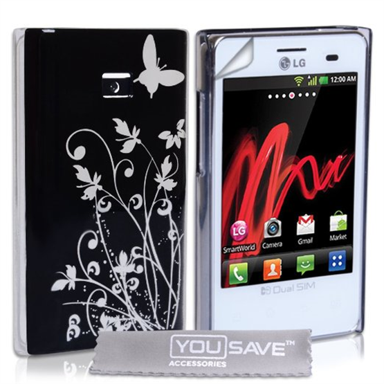 Yousave Accessories LG L3 IMD Black Case