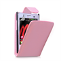 Yousave Accessories LG L3 Baby Pink PU Leather Flip Case