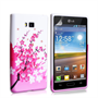 Yousave Accessories LG L7 Floral Bee Pink Case