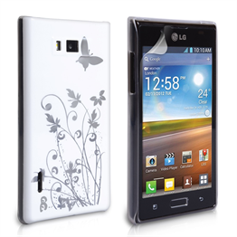Yousave Accessories LG L7 IMD White Case